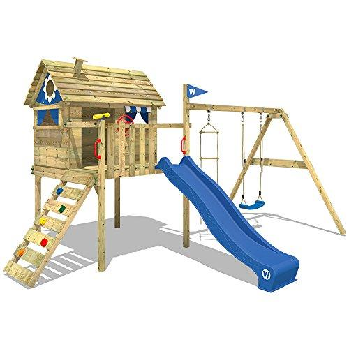 Wickey Smart Travel Playhouse on Stilts Climbing Frame Playground ...