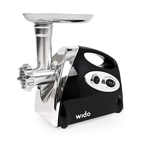 Wido Powerful 800W Electric Meat Grinder Mincer Sausage Maker 4 Cutting Discs