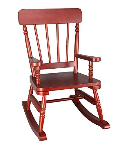 Wildkin Emerson Cherry Finish Rocking Chair