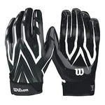 Wilson 2018 Clutch Skill Receiver Gloves - Black, 2XL