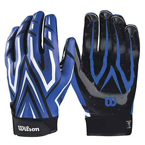 Wilson Clutch Receiver Gloves - Royal Blue, Medium