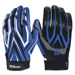 Wilson Clutch Receiver Gloves - Royal Blue, XL