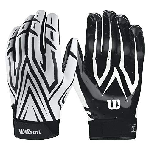 Wilson Clutch Receiver Gloves - White, XL
