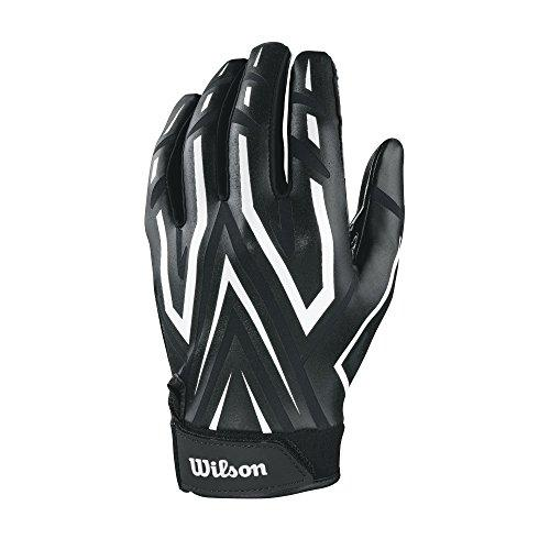Wilson Clutch Skill Receiver Youth Gloves - Black, Medium