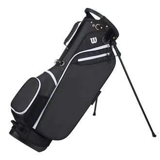 Wilson Men's W CARRY BLACK Golf Bags, One size