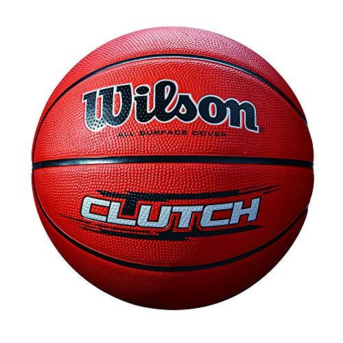 Wilson Outdoor basketball, Rough Surfaces, Asphalt, Synthetic Floors, Size 7, 12 years and up, Clutch, Brown, WTB1434XB