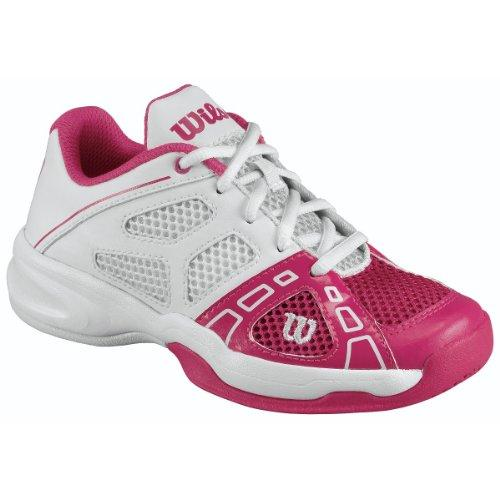 Wilson Rush Pro Junior Tennis Shoes Unisex-Child Pink Pink (Pink) Size: 33 1/3