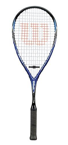 Wilson Squash Racket, CS Muscle 190, Unisex, Head Light, Grey/Red, WRT902630