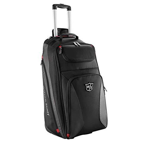 Wilson Staff Wheel Travel Bag, Black