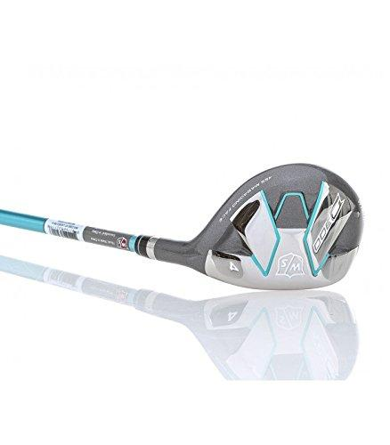 Wilson Staff Women's D300 Hybrid Golf Club, Right Hand, Graphite, Regular Flex, 23 degrees