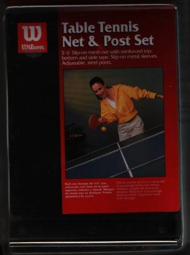 Wilson Table Tennis Net and Post Set by Wilson