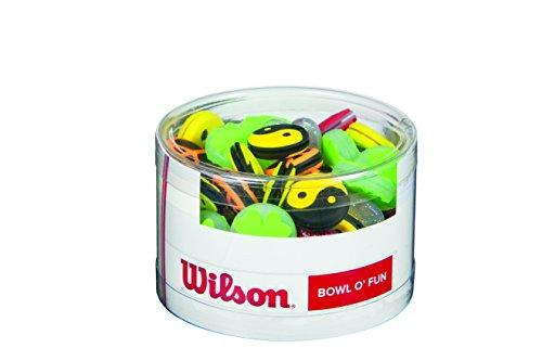 Wilson Tennis Assorted Vibration Racket Dampeners (Pack of 75) - Suitable for all rackets