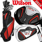 Wilson TOUR RX MENS 2019 COMPLETE GOLF SET +GOLF STAND BAG