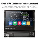 Wince Universal Head unit Single Din Car Stereo GPS sat nav DVD Player 7.0 inch In Dash support GPS/Navi/USB/SD/Subwoofer output/Cam-in/Bluetooth/Steering Wheel Control Function/FM/AM Radio