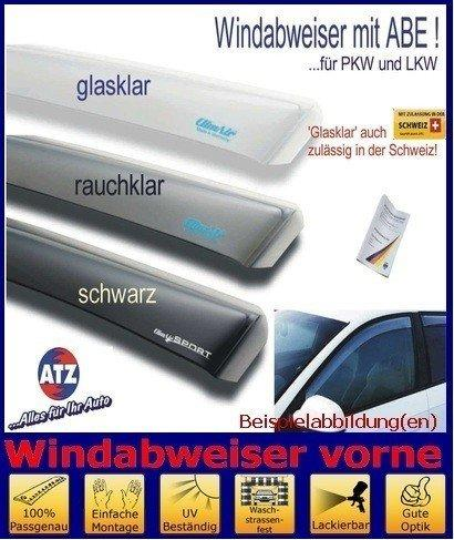 Wind Deflectors Peugeot Partner 2/4D 96-