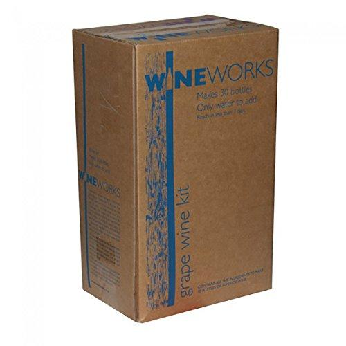 Wineworks Premium Peach Chablis Rosé Wine Making Kit