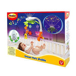 Winfun Musical Baby Mobile with Projector | Beautiful Cot Mobile for Newborn with Funny Animals Toys | Soothing Projection Light |