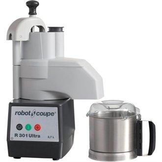 Winware Robot Coupe Food Processor & Veg Prep Attachment - Model: R301D Ultra