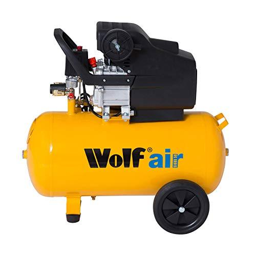 Wolf Sioux 50, 2 5HP, 9 6CFM, 230V, MWP: 116psi, 50 Litre Air