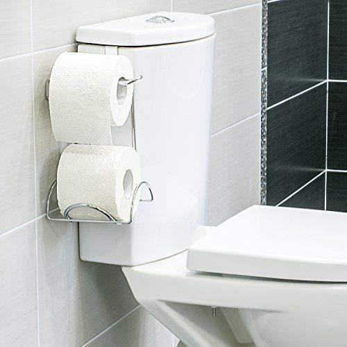 Wonder Worker Handy Toilet Paper Holder for 2 Rolls