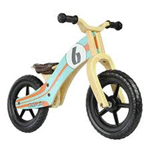 Wooden balance bike Rebel Kidz Le Mans 12 inch with EVA Tires New Model 2013
