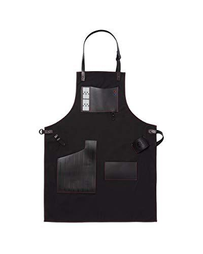W&P WPSW-APRN-DV Limited Star Wars Collection Apron, Premium Leather, Darth Vader, for Bartending, Baking, BBQ Grilling, and More, Kitchen Essentials