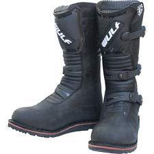 Wulfsport Adult Trial Boots Motorbike Motocross Motorcycle Boots Shoes Black EU45