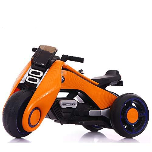 WZF Children'S Electric Car Motorcycle Tricycle Buggy Battery Male And Female Baby Toy Double Drive .(:B