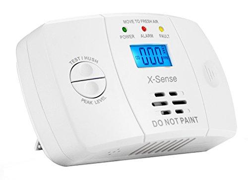 X-Sense CO03M Carbon Monoxide Detector CO Alarm with Electrochemical Gas Sensor (Battery Powered) (Updated Version)