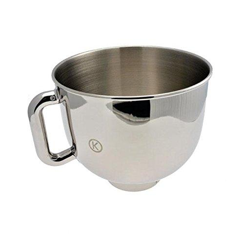 X3600 5L Stainless Steel Bowl with Handle for Kenwood Kmx50 Kmix Kitchen Mixer