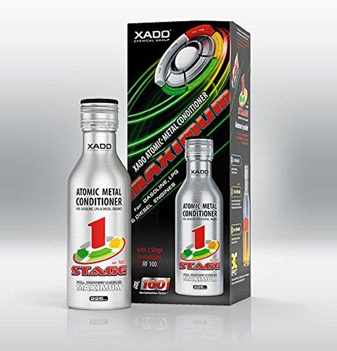 XADO Motor Oil Additive Metal Conditioner Engine Treatment - Wear Protection & Rebuilding of Worn Metal - Cars Vans Trucks - Maximum RF 100 1 Stage