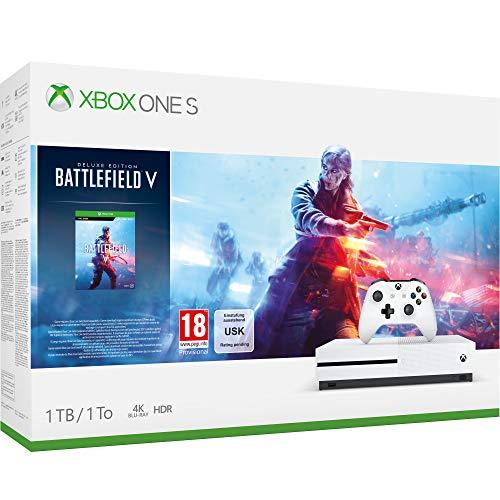 Xbox One S 1TB Battlefield V console