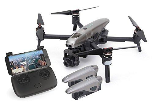 XciteRC Walkera VITUS Starlight Portable Quadrocopter RTF Combo FPV Drone with Night Vision Camera Obstacle Detection GPS Active Track Devo F8S Remote Control Grey