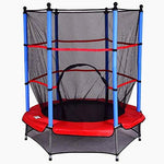 XFACTOR DEAL LIMITED Toddler Trampolines Junior Small Indoor Childrens Mini for Kids Outdoor Childs Exercise Garden Inside Home Red Bouncer &E Book