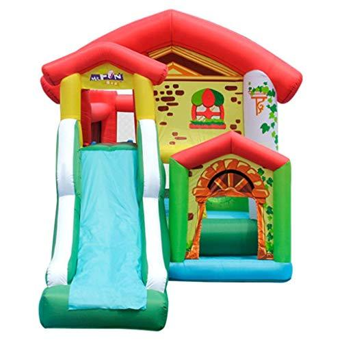 Xiaotian Outdoor Multi-Function Inflatable Trampoline Music Uncle Children's Inflatable Castle Trampoline Large Home Playground Naughty Fort