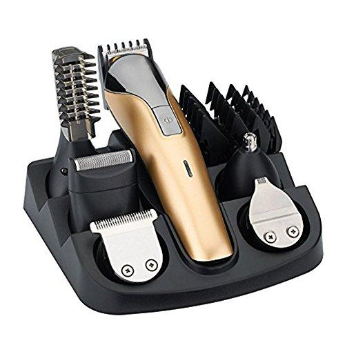XINCARE All in One Rechargeable Electric Hair Grooming Kit,Nose Ear Body Trimmer Beard Mustache Shaver Designer Hair Clippers Cutter For Barber With Combs