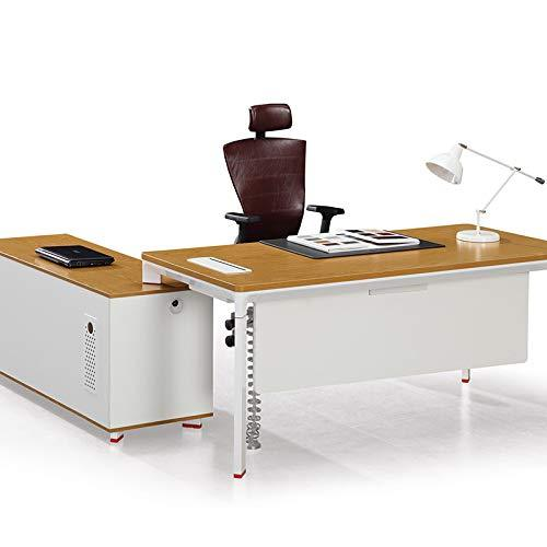xinrongqu Desk   Computer Desk   Office Furniture Steel Wood Combination Can Be Customized