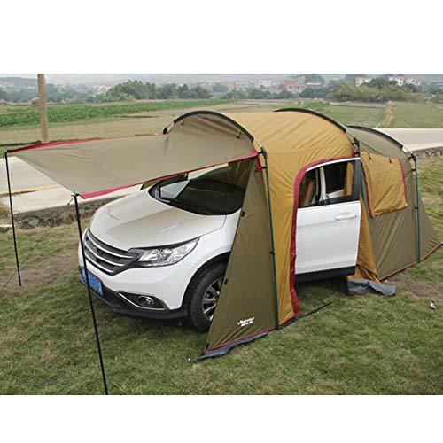 Xljh Outdoor 5-8 Persons Car Travel Tent For Camping Self-Driving Traveling Tent Awning