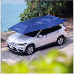 XNNSH Automatic Car Tent Movable Carport Folded Portable Automobile Protection Car Umbrella Sunproof Sun Shade Canopy Cover Universal,Manual