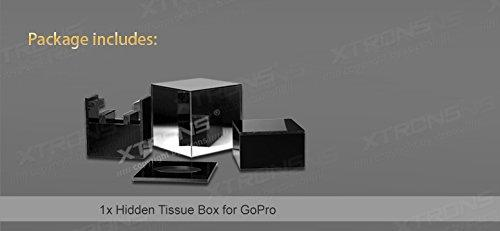 XTRONS® Dpbox02 Tissue Box Cover Mirror for GoPro Action Camera