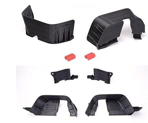 XUNJIAJIE 1 Set Chassis Mudguard fenders Car Mud Guard for Axial SCX10 90027/90028/90035