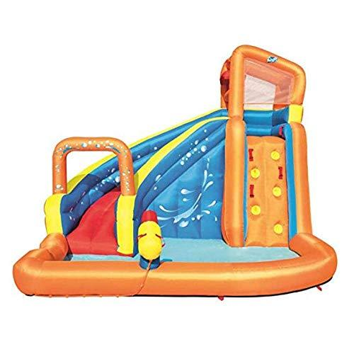 XYYKA Paddling Pools Swimming Swimming Inflatable Pool Paddling Pools Hot Tub Outdoor large surf children inflatable toy pool castle