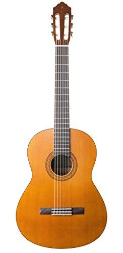 Yamaha C40II Standard Classical Guitar Package with Soft Case Tuner, Natural