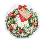 Yankee Candle Advent Calendar Winter Wreath Gift Set, 2018, with 24 Scented Tea Light Candles in 6 Festive Scents