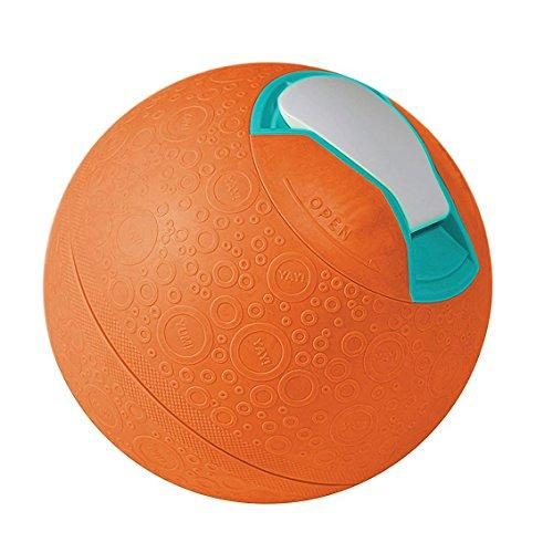 Yaylabs! Softshell Ice Cream Ball Ice Cream Maker 1 Pint Family Fun Acivities Play & Make (Orange)
