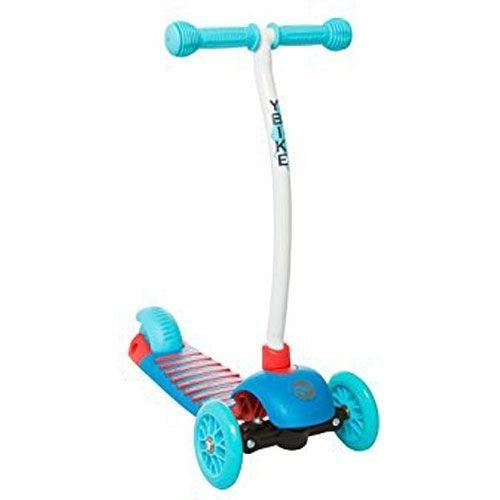 YBIKE Kids GLX  Cruze 3 Wheel Kick Scooter, Blue