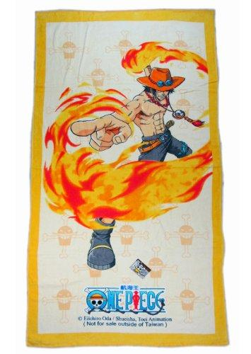Yellow One Piece Luffy's Pirates Beach Towel - One Piece Bath Towel