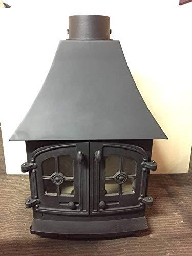 Yeoman Devon Wood Burning Stove Re Furbished 9 KW (High Canopy Version)