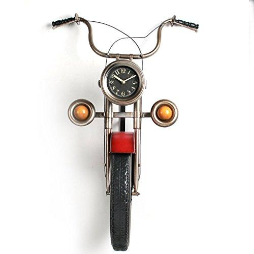 YJ-accessories Industrial wind motorcycle wall decorations pendant wrought iron living room dining room creative bar wall three-dimensional wall hangings