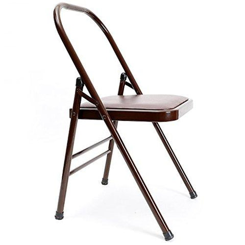 Yoga chair Training Equipment yoga folding chair fashion yoga auxiliary chair home yoga stool/folding chair thick and thick material relieve fatigue